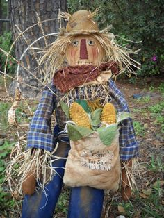 Our Scarecrow Model...