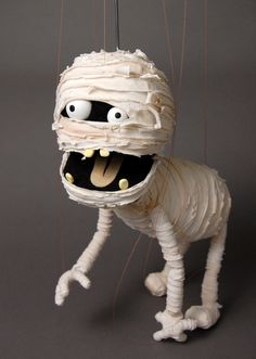 Japanese mummy marionette