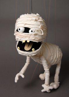 作品写真 mummy puppet