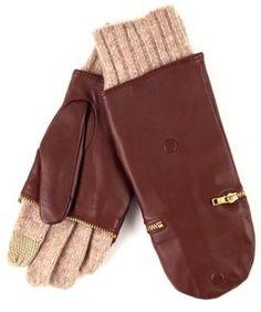 echo touch leather glitten
