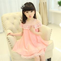 Cheap Dresses, Buy Directly from China Suppliers:Hot sale! 2016 New Fashion Korean Children Clothing Beautiful White Girls Full Lace Dress Princess Mini Dresses Kid Baby
