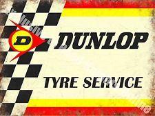 57 Tyre Vintage Garage Yamaha Goodyear Racing Motorcyle Large Metal Tin Sign