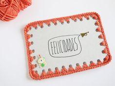 ganchitos: GANCHILLO EN PAPEL tutorial free tutorial crochet on paper