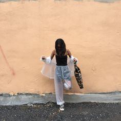 really tried to make this muji rain suit happen Transparent Clothes, Rain Suit, Plastic Pants, Muji, Rain Wear, Public, Normcore, Suits, Female