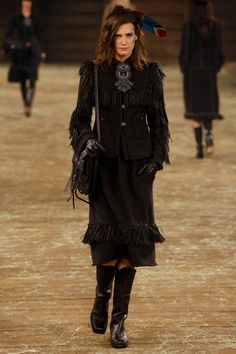 withoutstereotypes - Chanel Paris-Dallas pre-fall 2014