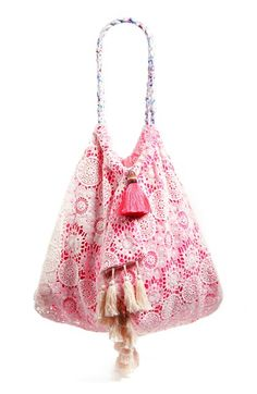 6 SHORE ROAD by Pooja 'Sunset' Beach Bag available at #Nordstrom