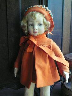 Antique Lenci doll 500 series
