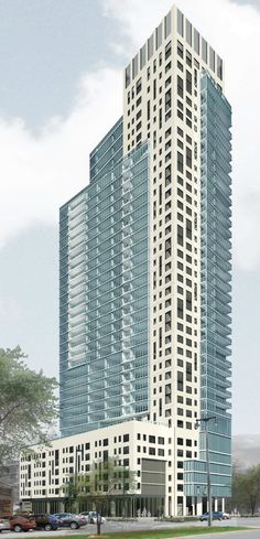700 E. Kilbourn Ave Rendering (planned apartment building)