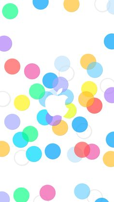 Apple Dots ★ Find more Color Pop wallpapers for your #iPhone + #Android @prettywallpaper