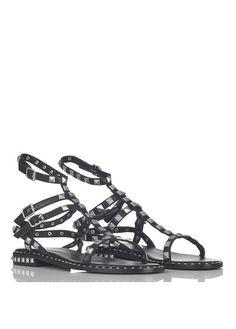 Sandales façon poulain et cuir KaliroiAncient Greek Sandals 7MTUI2yLOO
