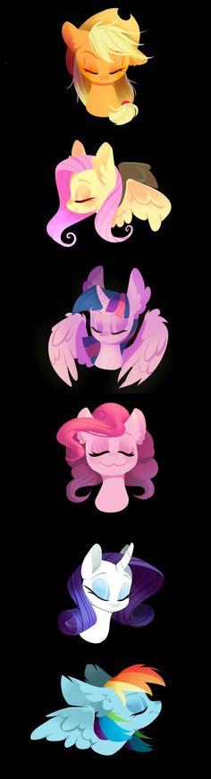 Mane 6 …my little ponys My Little Pony Twilight, My Little Pony Comic, My Little Pony Pictures, Mlp My Little Pony, My Little Pony Friendship, Happy Friendship, Dessin My Little Pony, My Little Pony Drawing, Rainbow Dash