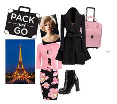 """""""Go to Paris"""" by cinzia-cipriani ❤ liked on Polyvore featuring Jeffrey Campbell and McKleinUSA"""