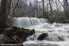 Upper Jonathan Run Falls, Ohiopyle State Park, Fayette County, PA.