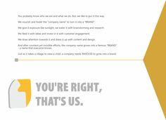 We transform organisations into brands. We are #inhouse #Advertising & #Branding