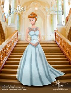 (244) Cinderella [2015] (Fairy Tale Wedding by AN-ChristianComics @deviantART) #Cinderella