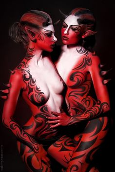 Valery Star. Body Painting| Be inspirational ❥|Mz. Manerz: Being well dressed is a beautiful form of confidence, happiness & politeness