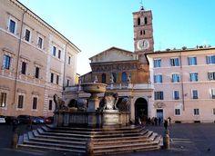 Fontana di Piazza Santa Maria in Trastevere, Rome