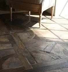 pavimento di legno riciclato