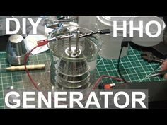 Here's the HHO Generator I've been working on. I will hopefully be able to use it to fuel an HHO torch I will be making in another video. Nuclear Technology, Science And Technology, Energy Projects, Projects To Try, Hydrogen Generator, Woodworking Workbench, Alternative Energy, Electronics Projects, Solar