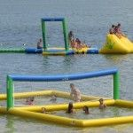 Ohio Staycation ideas... The Beach at Atwood Lake Park...  beach, playground, hiking trails and nature center