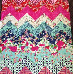 chevron quilt. need to make! (As if I have ever made a quilt)