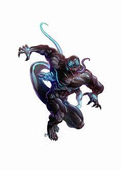 Fantasy Demon, Fantasy Monster, Monster Art, Dark Fantasy Art, Marvel Villains, Marvel Characters, Fantasy Characters, Fantasy Character Design, Character Design Inspiration