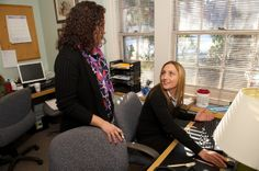 Aisling Lydeard, NP, is a Nurse Practitioner at the Dimock Center in Roxbury.