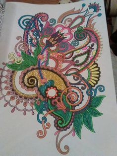Coloured By Nikki Williams.