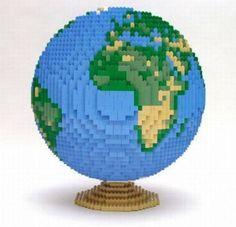 LEGO - Nathan Sawaya -The World