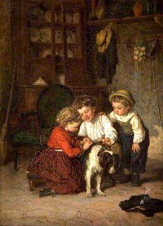 Playmates (Théophile-Emmanuel Duverger - )