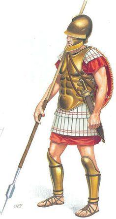 Macedonian phalangite 4th century BC