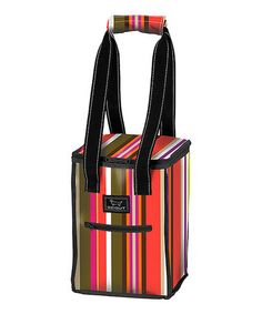 Cutest little insulated beverage tote!