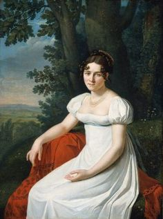 Portrait of a Woman by Unidentified artist, French, early 19th century