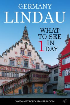 Planning a trip to Germany? Don't miss these gems on the island of Lindau! #lindau #bavaria #europe #travel