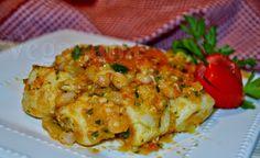 Veganana: Nhoque de Batatas com Molho de Tomates e Feijão Branco