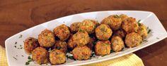 Turkey Broccoli Cheddar Balls Recipe by Daphne Oz - The Chew