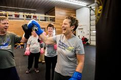 You might not expect to see Parkinson's patients throwing right crosses and knee kicks, but that's the prescription for people who take part in Rock Steady Boxing.