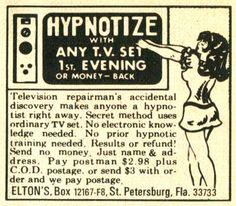 Hypnosis - Guaranteed! (1960s-1970s)