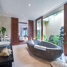 Bali Architecture Style Interior and Exterior