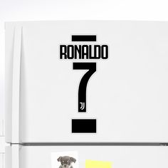 'Ronaldo 7 Juve Fans' Sticker by elhefe Ronaldo Shirt, Cristiano Ronaldo 7, Under The Table, How To Make Shorts, Athletes, Classic T Shirts, Fans, Stickers, Sports