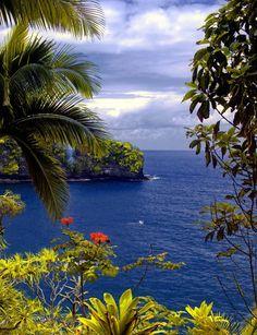 Seascape. Big Island Hawaii