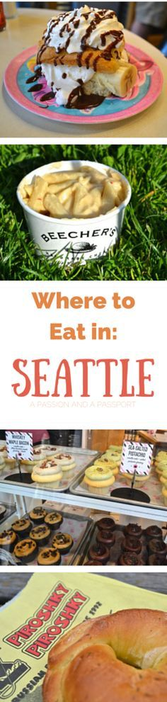 Where to eat in Seattle Washington - Over 20 restaurant recommendations! Great resource! Travel / Food / Bucket List / Restaurants