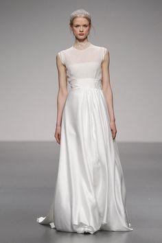 Yo quiero comer perdices contigo..  Colección 2013 vestidos de novia de Paula del Vas