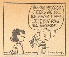 peanuts vinyl records
