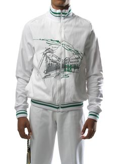White Pelourinho Jacket 100% Polyamide at $99. Not available right now, but if you are interested, send me an email adrien@mestres.com.br to be noticed of its arrival.