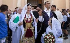 Awesome Amazing sardinia italy traditional wedding outfits from around the world wedding dress b...