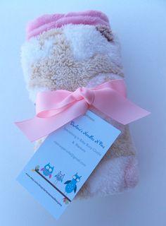 Elephant Cuddle Blanket by DarlenesNeedlesnPins on Etsy