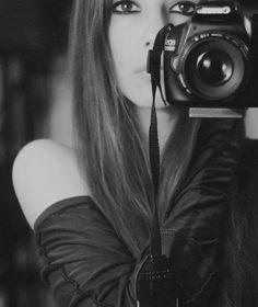 A rather stylish retro selfie