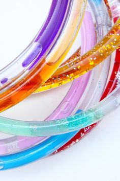 Make Discovery Tubes and explore three different scientific concepts in one colorful DIY toy!