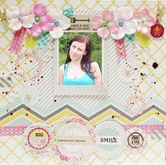 Layout about me - Scrapbook.com